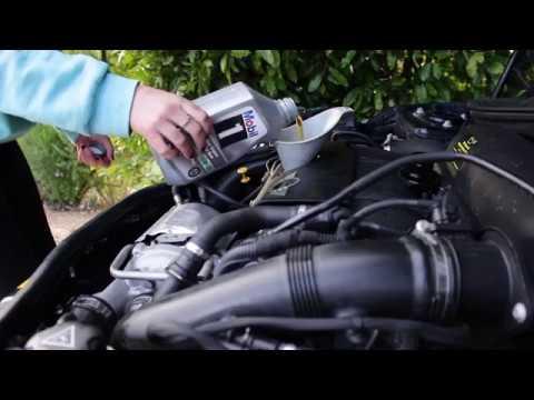 R55 Mini Cooper S Oil Change