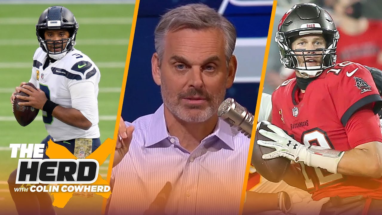 Brady & Arians don't fit, talks Seattle defense & caliber of Russ' Seahawks — Colin   NFL   THE HERD