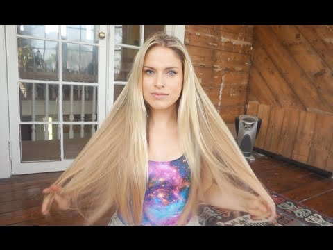 NEW Blonde Hair Extensions Review Unboxing and First Impression
