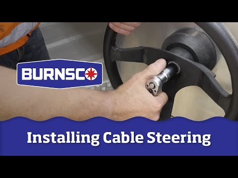 How To Install A Cable Steering System On Your Boat