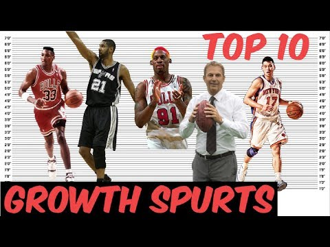 Top 10 Biggest Growth Spurts EVER RECORDED!