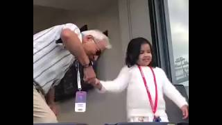 Ziva Singh Dhoni || Masti Video || During WC 2019 || Ind Vs Ban || Cutest Video 😍