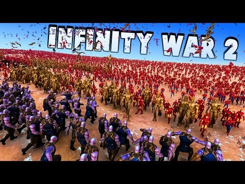 Download Infinity War 2 - 300 Thanos' From All Universes vs 10000