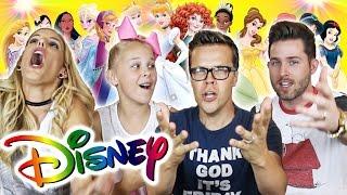 Disney Song Challenge w/ Jojo Siwa, Joshua Evans & Rebecca Zamolo