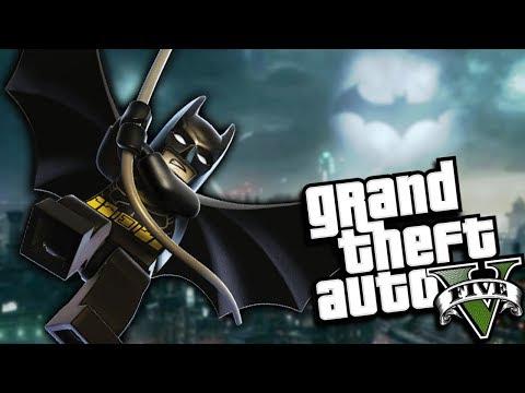 GTA 5 Mods - THE LEGO BATMAN MOD (GTA 5 PC Mods Gameplay)