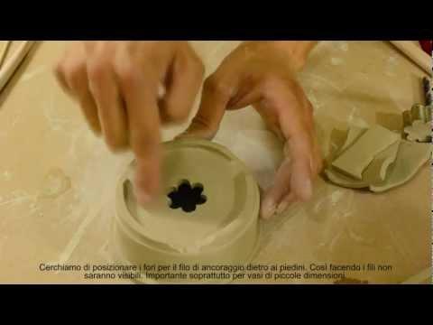 how to make a bonsai pot / slab technique 2 - come fare un vaso bonsai / tecnica a lastre 2