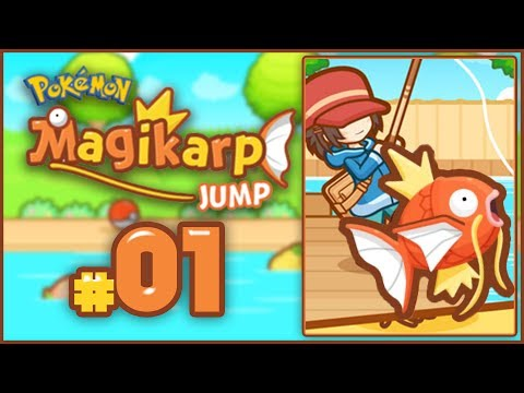 Pokemon: Magikarp Jump - First Look Gameplay! [Android / iOS FREE DOWNLOAD]