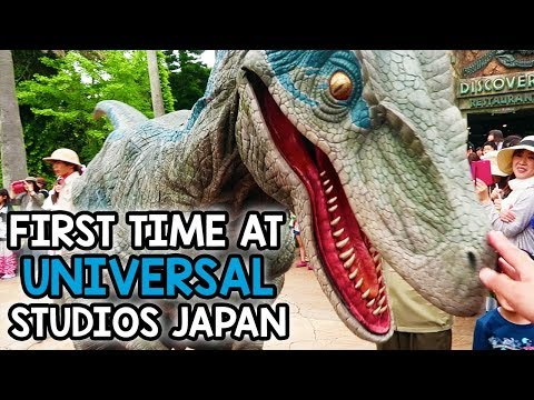 First Time at Universal Studios Japan | Part One