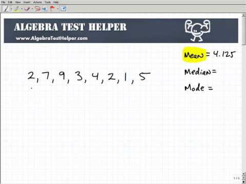 Learn and Understand The Mean Median and Mode