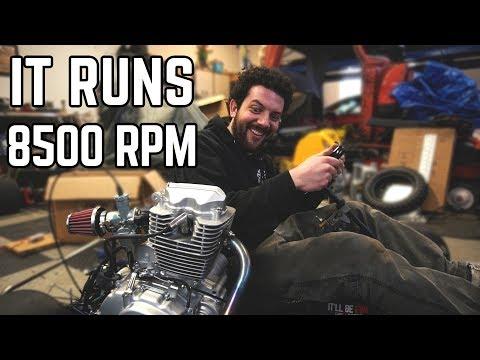 200cc Shifter Kart Build: First Fire!