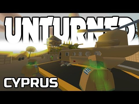 NEW CYRPUS MAP AND ARENA! Unturned Update 3.23.5.0!