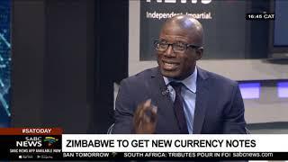 Zimbabwe's new currency: Acie Lumumba