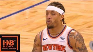 New York Knicks vs Orlando Magic 1st Half Highlights / Feb 22 / 2017-18 NBA Season