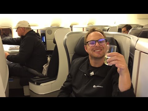 AIR FRANCE - BUSINESS CLASS REVIEW - LAX to CDG