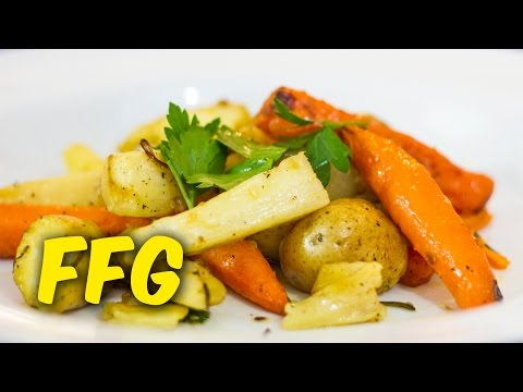 Full Food Guys - Roasted Parsnips, Potatoes & Carrots