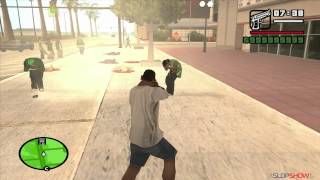 http://vk.com/gta_legends - Группа ВКонтакте  http://youtube.com/SLdpShow - Подписывайтесь на наш канал! http://vk.com/warezchannel - Warez channel  Различные секреты и хитрости игры GTA San Andreas  Music From: http://BeatsRoyaltyFree.com