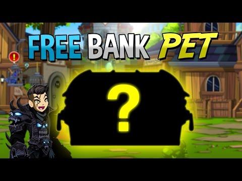 FREE AC BANK PET - SIR VER BANK PET AQW 2016