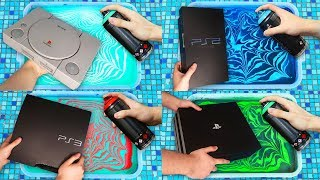 HYDRO Dipping EVERY PLAYSTATION EVER (1994-2020) 🎨