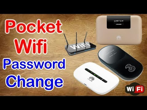 how to change pocket wifi password from phone with app very easily 2017