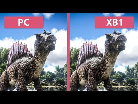 Ark: Survival Evolved – PC vs. Xbox One Graphics Comparison