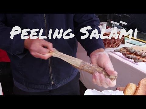Peeling and Storing Artisan Salami with Joshua Beagle