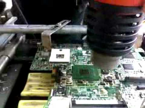 Bga Chipset chip change in 4 four minutes.mp4