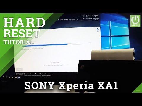 Bypass Screen Lock SONY Xperia XA1 - Hard Reset / Master Reset
