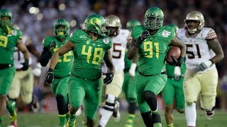 The Best Play from every Playoff Semi-Final Game (2015-2018) | College Football