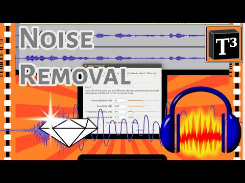 How To Get Crystal Clear Audio ▪ Audacity Noise Removal Tutorial