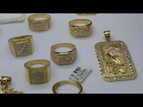 Crazy 10K gold rings and pendants!