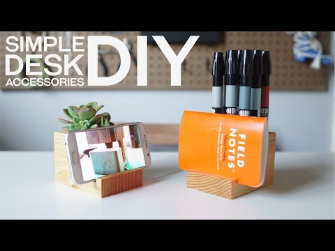 A Simple and Modern Desk Accessory DIY - Freaky Fast 4x4 Friday Feature EP.1