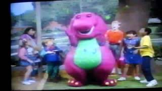 Opening To Barney's Home Sweet Homes 1993 VHS