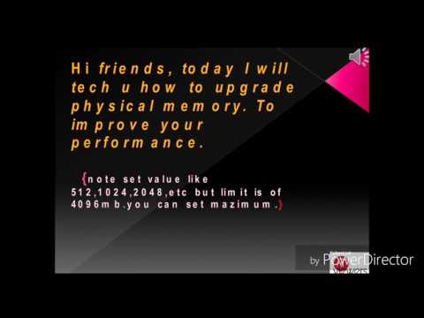 Physical memory improve..