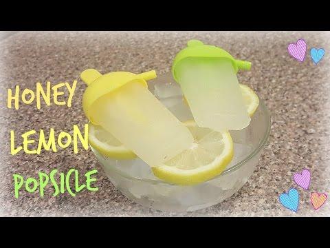 REFRESHING Honey Lemon Popsicles 夏日清爽 蜂蜜檸檬冰棒 | EuniceLy