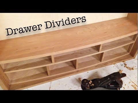 How to Build Curved Front Drawer Dividers