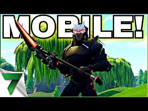 FORTNITE MOBILE #1 PLAYER AT POTATO AIMING!!!   FORTNITE MOBILE