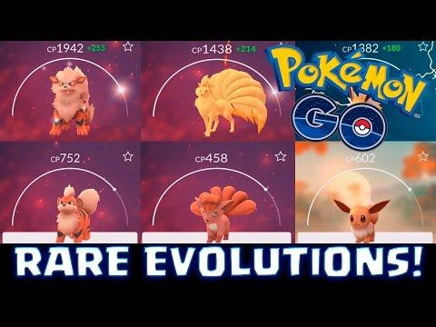 BEAUTIFUL RARE EVOLUTIONS!   Pokemon GO   ARCANINE , NINETALES & JOLTEON!
