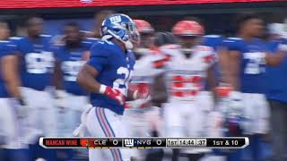 Saquon Barkley First Carry With Giants | Nfl Preseason Highlights