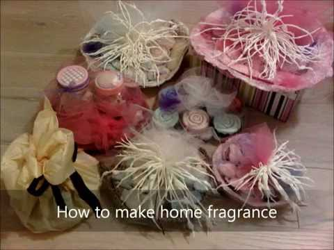 Make your own plaster of paris home fragrance