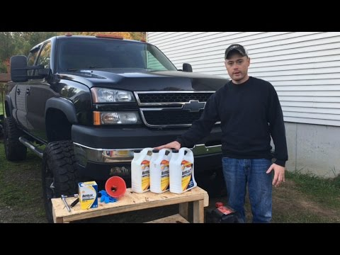 Oil Change on a Duramax