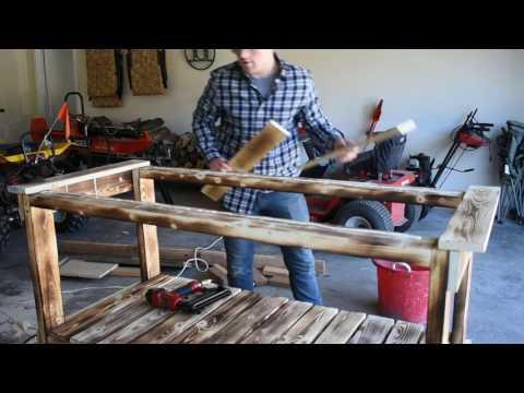Building a rustic bar