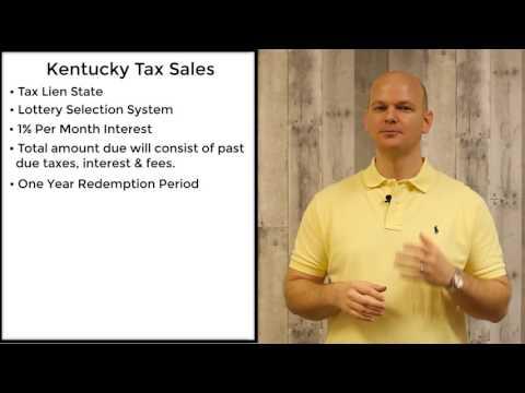 Kentucky Tax Sales - Tax Liens
