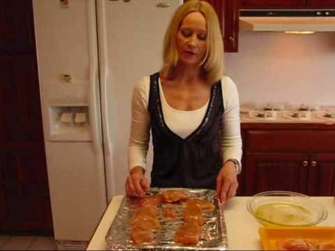 Betty's Oven-Barbecued Chicken Breasts