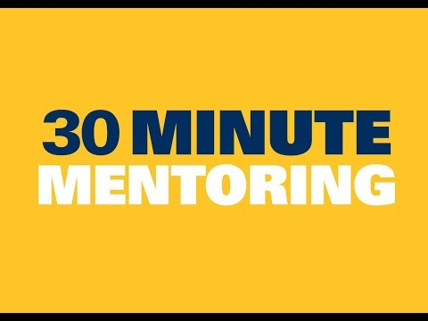 30 Minute Mentoring