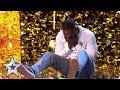 Comedian Kojo gets Simon's GOLDEN BUZZER | Auditions | BGT 2019
