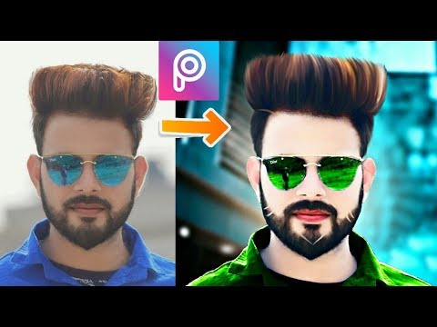 New PicsArt Editing || Picsart Stylish Look Editing like Photoshop || Change Hairstyle in Autodesk