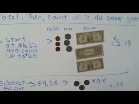 How to count money to make change (Addition #11)