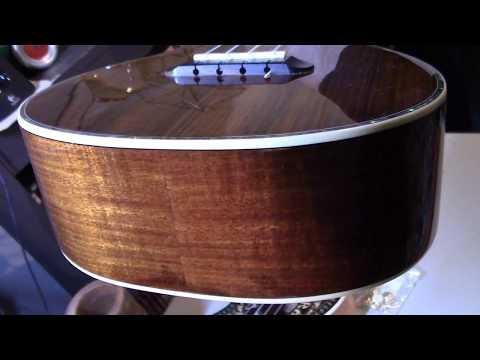 How to Install a Guitar Strap Mushroom Button on a Fender and Alvarez Ukulele