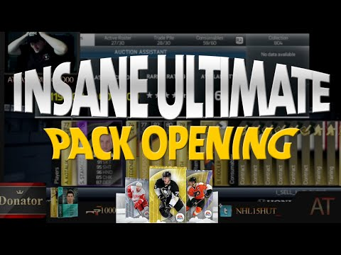 NHL 14 HUT Pack Opening HUGE PULL 95+ Overall