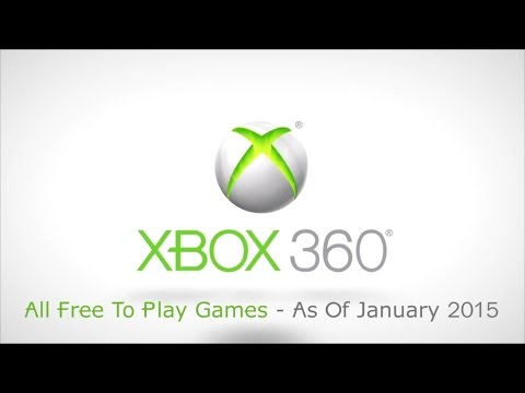 Xbox 360  Free Downloadable Games Available - As of January 2015